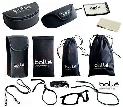 Bolle Safety Glasses Spectacles Goggles Storage Case Pouch Bag Adjustable Cord