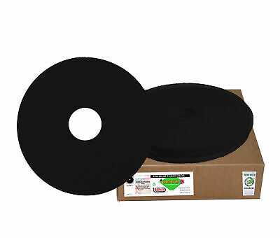 "Sanico MVP Reliever 19"" Black Stripping Floor Pad Wet Strip  , 5/cs"