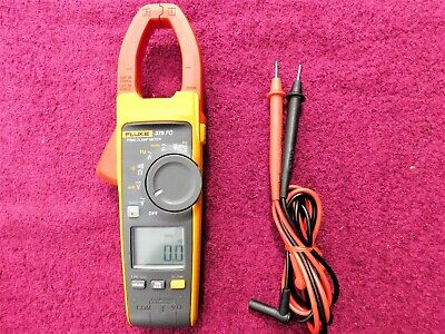 "Fluke 375 Fc *Excellent!* True Rms ""New-Style"" Clamp Meter!"