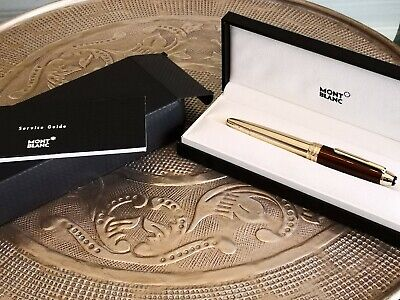 Montblanc Meisterstuck  Legrand Mb23767  Fountainpen Citrine Lacquer And Gold