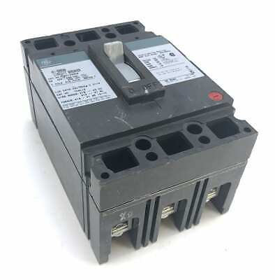 General Electric THED136020 3 Pole 20 Amp 600 Vac Circuit Breaker (T4)