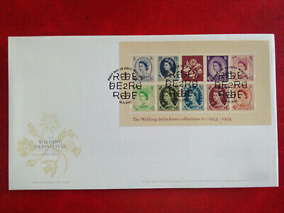 GB stamps collection First Day Cover 2003 Wildings Windsor cancel unaddressed.