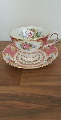 royal albert lady carlyle cup and saucer