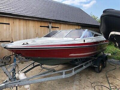Fletcher Arrowshaft 20ft Speed Boat Spares Repair Ideal Project  BRING OFFERS