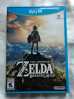 The Legend of Zelda: Breath of the Wild (Nintendo Wii U, 2017) Free Shipping
