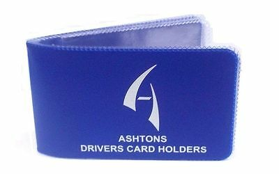 Ashtons Credit Card DVLA Driving Licence Card Photo Driver Card Wallet Holder