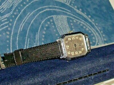 Men's Early Antique Art Deco Swiss Velencia watch - Rare Double Hinged Case