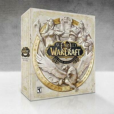 World Of Warcraft: 15Th Anniversary Edition For Pc! Brand New! Sealed! *Presale*