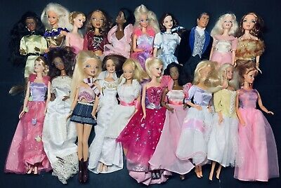 Vintage Barbie Lot Of 20 Mixed Doll Lot Very Impressive Condition #2