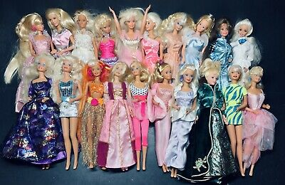 Vintage Barbie Lot Of 20 Mixed Doll Lot Very Impressive Condition #5