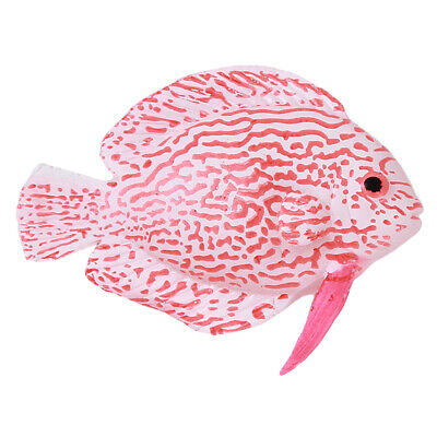 Aquarium Fish Tank Decoration Simulation Silicone Lionfish Ornament Glowing G