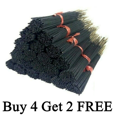 Incense Sticks 100 Bulk Pack Hand Dipped Made In the USA Buy 4 Get 2 Free