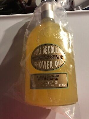 loccitane almond shower oil