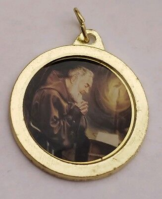 Catholic Religious St Saint Padre Pio Holy Relic Medal Cloth