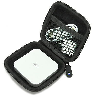 Portable Credit Card Scanner Case For Square Contactless Clip Reader - Black