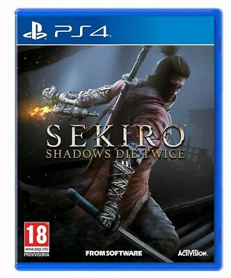 Sekiro Shadow Die Twice Ps4 Gioco Nuovo Sigillato Italiano Sony Playstation Dvd