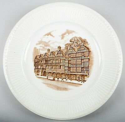 Wedgwood Old London Views (Edme) Staple Inn Dinner Plate Made in England
