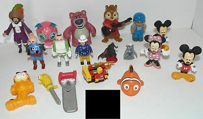 Lot De 18 Figure Disney/Pixar / Mattel/Hasbro/Mc Donalds / Burger King.