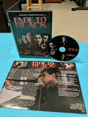 Fade to Black (DVD) ANCHOR BAY! RARE OOP HORROR!