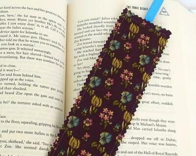Handmade in Australia Fabric Bookmark, Lots of Bookmarks to choose from