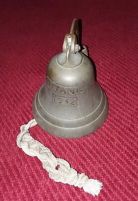 Brass 1912 Titanic Nautical Bell (reproduction)