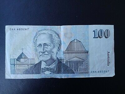 Australian Old Paper banknotes, $100* A/ uncirculated cond ZHA