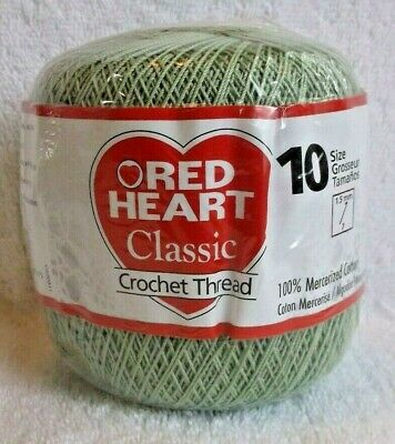Red Heart Classic Crochet Thread Size 10 Victory Red 073650810909