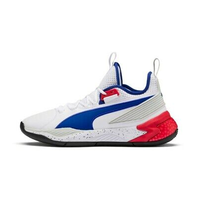 check out 221d3 e8ab7 Puma Basketball Uproar PA Detroit Palace White Red Blue Men New Hoops  192776-01