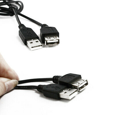 60cm 2ft USB 1.1 Extension Cable USB A Male Plug to A Female Socket Lead PRO#