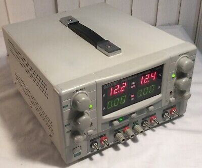 Extech Model 382270 Quad Output DC Power Supply / Pre-Owned