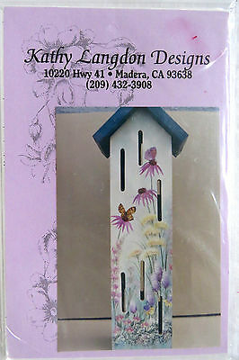 Kathy Langdon Spring Garden Butterfly House Painting Pattern Pack