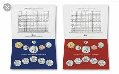 (50) FIFTY SETS 2019 P & D 20-Coin Annual Uncirculated Coin Set 19RJ NO W. CENT