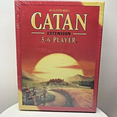 Settlers of Catan Board Game 5th Edition 5-6 Players Expansion Pack New In Box