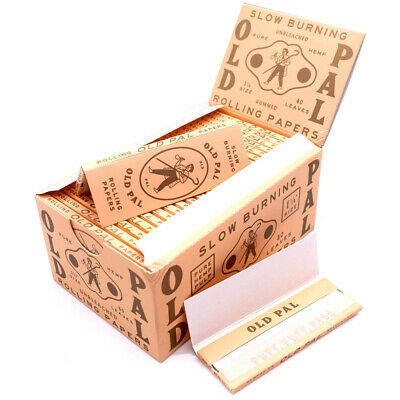 O*D P*L PURE HEMP Rolling Papers 77*45mm 25 Booklets=1000 leaves smoking
