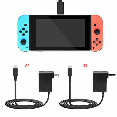 Home Wall Charger Power Supply Travel AC Adapter Cable Cord For Nintendo Switch