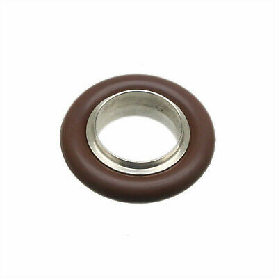 NW/KF-16 Vacuum flange Fitting Centering + Viton O-Ring SS304 (No Hinge Clamps)