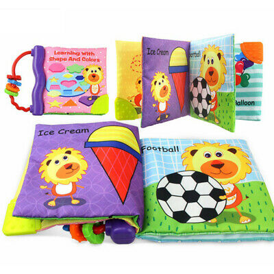Baby Toys Bed Cloth Cognize Book Intelligence Developmental Educational Toys
