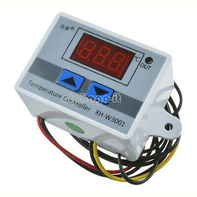 1pcs 220V 10A Digital LED Temperature Controller Thermostat Control Switch