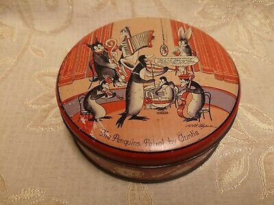 Antique The Penguins Patrol By Auntie Tin - 1930's