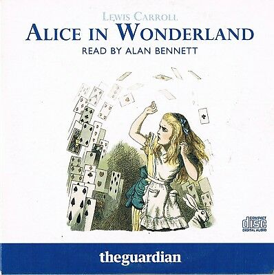 Alice In Wonderland - Read By Alan Bennett  -  Audio Book TG