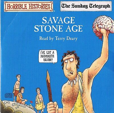 Horrible Histories - Savage Stone Age - Audio Book N/P
