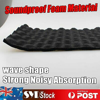 Wave Foam Soundproof Sound Noise Super Absorbing Materials Insulation Adhesive