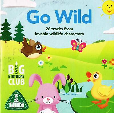 Go Wild (ELC)   - Audio Book CD N/P