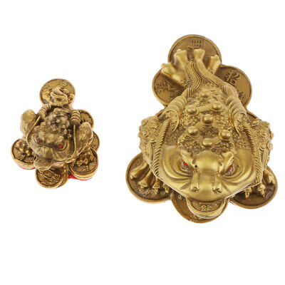 Feng Shui Money Lucky Fortune Oriental Chinese Wealth Lucky Toad Ornaments