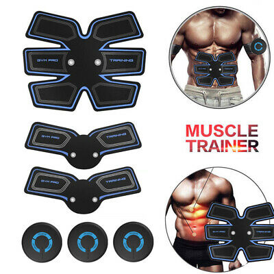 Ultimate Abs Slim Stimulator Abdominal Muscle Train Toning Belt Waist Trimmer