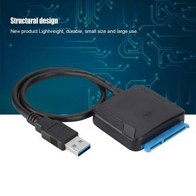"2.5""/3.5"" USB 3.0 to SATA Hard Disk Drive Server Data Transmission Cable Adapte"