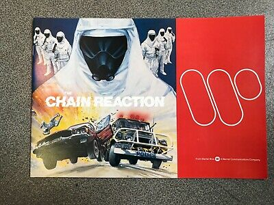 THE CHAIN REACTION - IAN BARRY, GEORGE MILLER Dossier presse 1980 STEVE BISLEY