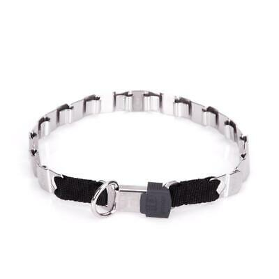 Neck Tech Fun Large Dog Collar with ClickLock | Stainless Steel Dog Collar 2 cm
