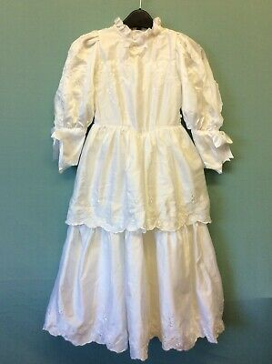 Nwt Junior Belle Vintage Confirmation Dress Size 26 Made In Great Britain (5193)