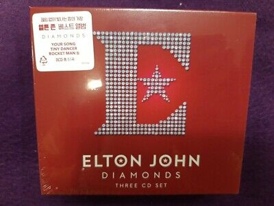 Elton John / Diamonds - The Ultimate Greatest Hits Collection (3CD) NEW SEALED